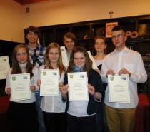 Uroczysta sesja Młodzieżowej Rady Miejskiej